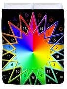 432hz Rainbow Star Duvet Cover