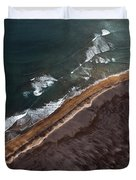 Aerial Photo Duvet Cover