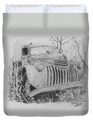 46 Chevy Treasure Duvet Cover