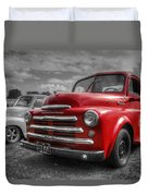 48' Dodge Fargo Duvet Cover