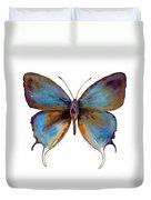 48 Manto Hypoleuca Butterfly Duvet Cover by Amy Kirkpatrick