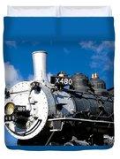 480 Locomotive Duvet Cover