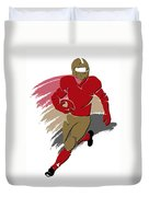 49ers Shadow Player2 Duvet Cover