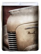 1940 Nash Sedan Grille Duvet Cover
