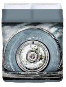 1956 Ford Thunderbird Spare Tire Duvet Cover