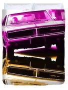 1969 Dodge Charger Duvet Cover