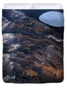 Aerial Photography Duvet Cover