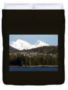 Alaskan Landscape Duvet Cover