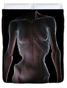 Anorexia Duvet Cover
