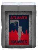 Atlanta Hawks Duvet Cover