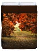 Autumn Ablaze Duvet Cover