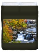 Berea Falls Duvet Cover by Frozen in Time Fine Art Photography