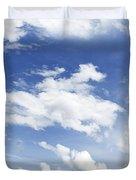 Big Blue Sky Duvet Cover