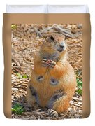 Black-tailed Prairie Dog Duvet Cover