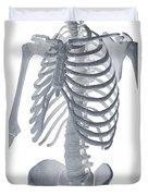 Bones Of The Torso Duvet Cover