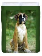 Boxer Dog Duvet Cover