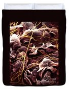 Candida And Epithelial Cells Duvet Cover