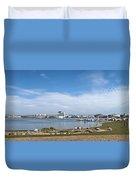 Cardiff Bay Panorama Duvet Cover