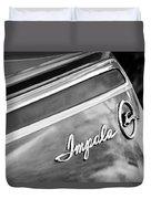 Chevrolet Impala Emblem Duvet Cover