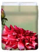 Dahlia Named Caproz Jerry Garcia Duvet Cover