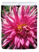 Dahlia Named Pretty In Pink Duvet Cover