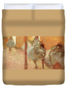 Dancers Duvet Cover by Edgar Degas