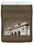 Denver - Union Station Duvet Cover
