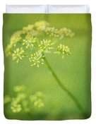 Dill Flower Duvet Cover