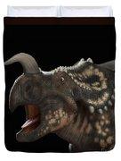 Dinosaur Einiosaurus Duvet Cover