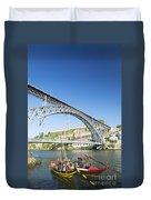 Dom Luis Bridge Porto Portugal Duvet Cover