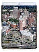 Downtown Providence Rhode Island Duvet Cover