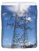 Electricity Pylon Duvet Cover