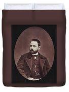 Emile Zola (1840-1902) Duvet Cover