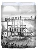 Execution Of Conspirators Duvet Cover