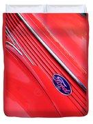 Ford Emblem Duvet Cover