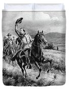 George Armstrong Custer (1839-1876) Duvet Cover