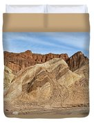 Golden Canyon Death Valley National Park Duvet Cover