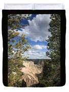 Grand Canyon Of Yellowstone Duvet Cover