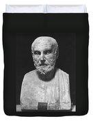 Hippocrates (c460-c377 B.c.) Duvet Cover
