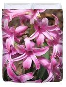 Hyacinth Named Pink Pearl Duvet Cover