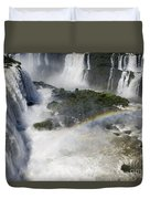 Iquazu Falls - South America Duvet Cover