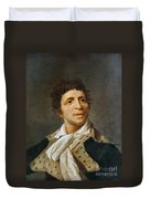 Jean-paul Marat (1743-1793) Duvet Cover