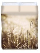 June Grass Flowering Duvet Cover