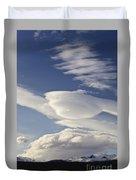 Lenticular Clouds Duvet Cover