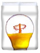 Liquid Coronet  Duvet Cover