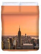 Manhattan - New York City - Usa Duvet Cover