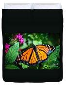 Monarch Danaus Plexippus Duvet Cover