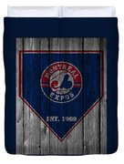 Montreal Expos Duvet Cover