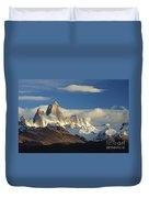 Mount Fitzroy, Argentina Duvet Cover