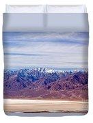 Natural Bridge Canyon Death Valley National Park Duvet Cover